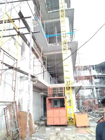 sewa lift proyek