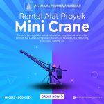 Sewa Mini Crane Termurah